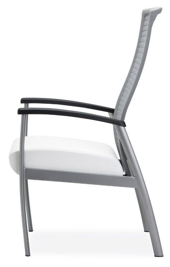 Chair with armrests / with high backrest Solis Krug