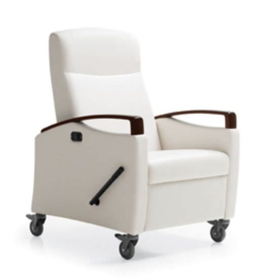 Medical sleeper chair / on casters / reclining Jordan Sleep Recliner Krug
