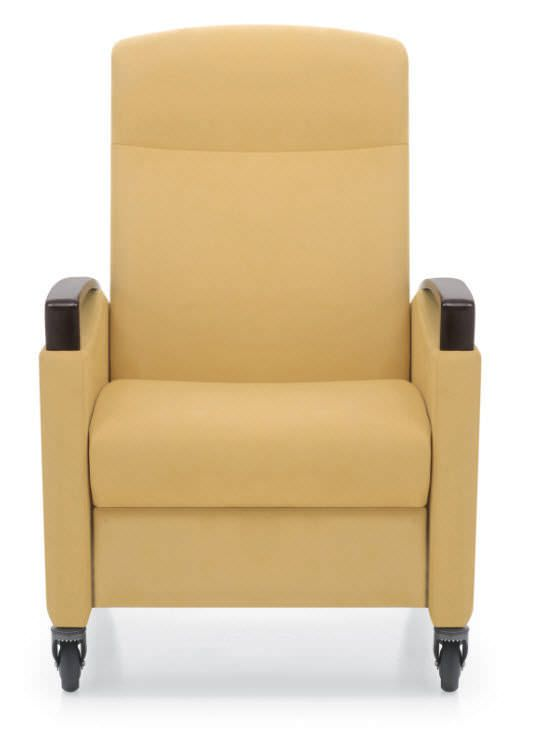 Medical sleeper chair / on casters / reclining / manual Jordan Recliner Krug
