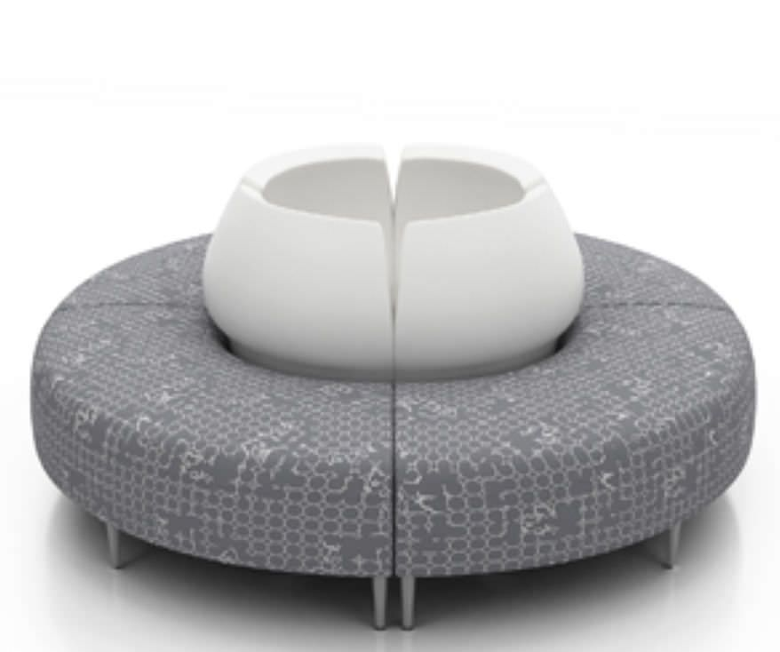 Waiting room design sofa Zola Krug