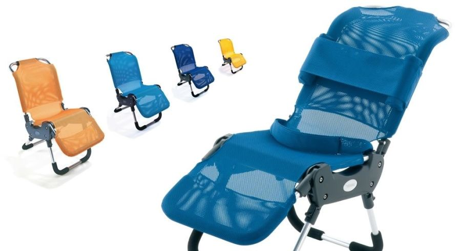 Shower chair / pediatric / height-adjustable Leckey