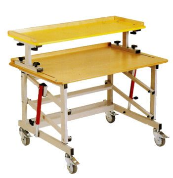Height-adjustable ergotherapy table / on casters Springfield Leckey