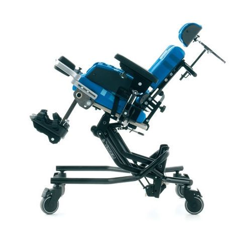 Passive wheelchair / reclining / with legrest / pediatric Leckey