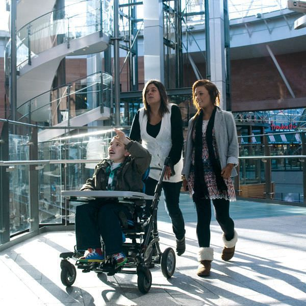 Passive wheelchair / with headrest / pediatric / with legrest Mygo Leckey