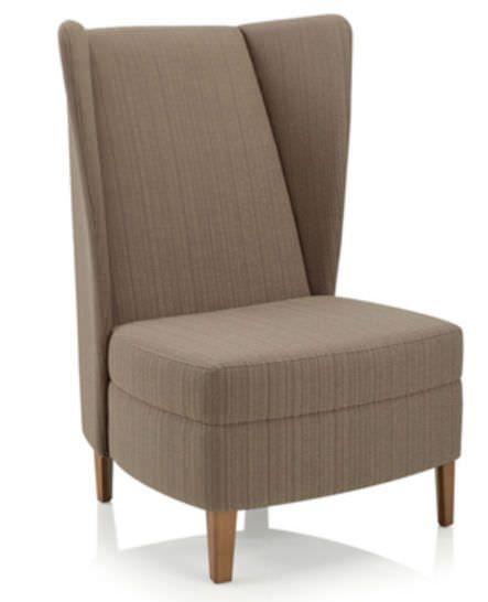 Waiting room armchair Affina KI