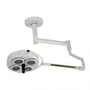 Halogen surgical light / ceiling-mounted / 1-arm 60,000 Lux Life Support Systems