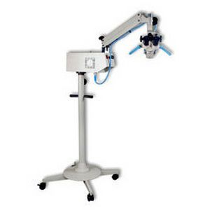 (surgical microscopy) / examination microscope / for ENT examination / mobile Life Support Systems