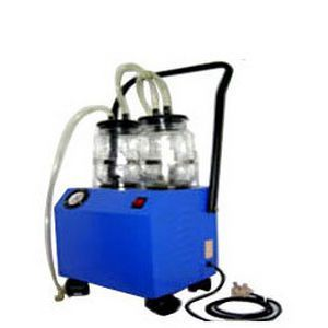 Electric surgical suction pump / handheld Hi-Vac Jr. Suction Economy M-6 Life Support Systems