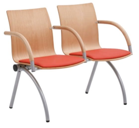 Beam chair / for waiting room / with table / 2 seater CALMK0262UW Knightsbridge Furniture