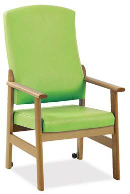 Chair with armrests / with high backrest HAMILK2030 Knightsbridge Furniture