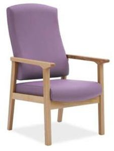 Chair with armrests / with high backrest DALTOK6039 Knightsbridge Furniture