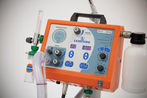Electronic ventilator / transport / emergency PR4D -02 Leistung