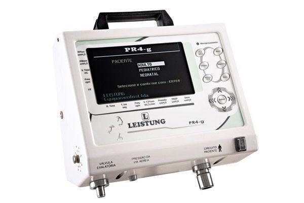 Electronic ventilator / transport / emergency PR4-g Leistung