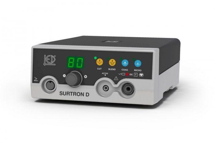 Monopolar coagulation HF electrosurgical unit / monopolar cutting SURTRON 80D LED