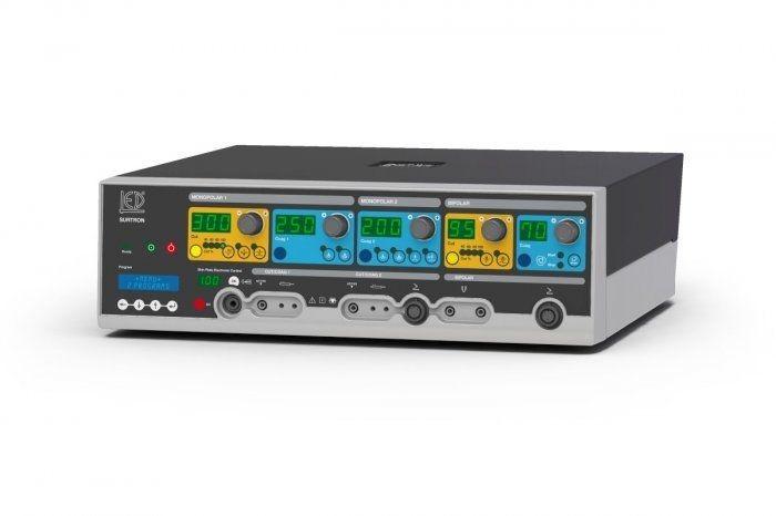 Bipolar cutting HF electrosurgical unit / monopolar coagulation / bipolar coagulation / monopolar cutting SURTRON 300 HP LED