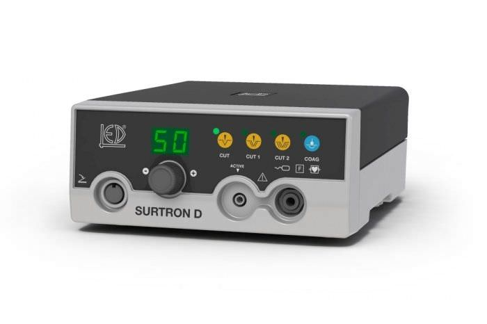 Monopolar coagulation HF electrosurgical unit / monopolar cutting SURTRON 50D LED