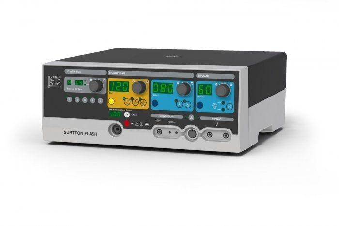 Bipolar coagulation HF electrosurgical unit / monopolar coagulation / monopolar cutting SURTRON FLASH 120 LED