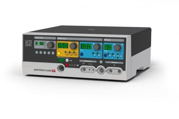Bipolar coagulation HF electrosurgical unit / monopolar coagulation / monopolar cutting SURTRON FLASH 160 HF LED