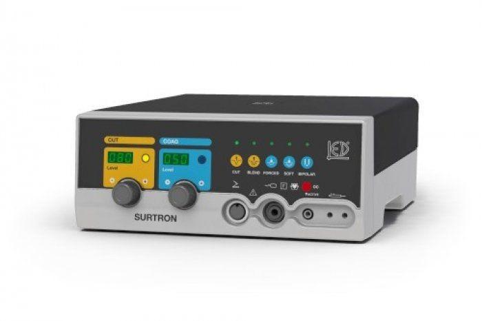 Monopolar cutting HF electrosurgical unit / bipolar coagulation / monopolar coagulation SURTRON 80 LED
