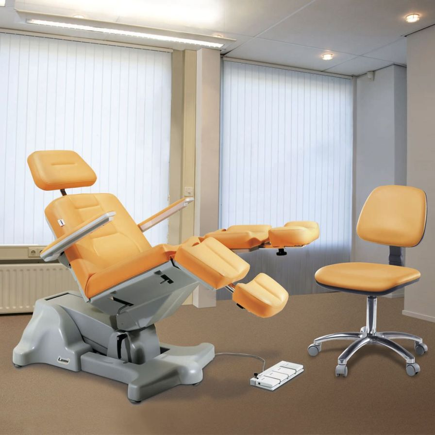 Podiatry examination chair / electrical / Trendelenburg / height-adjustable PODO MIX 1-2M LEMI