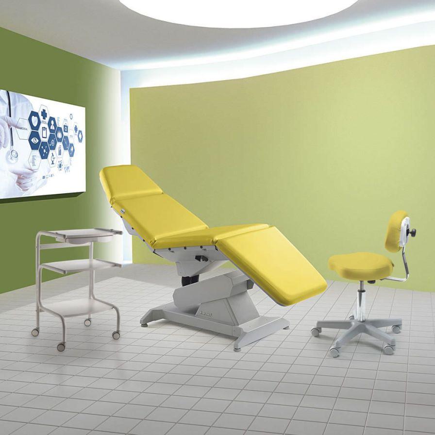 Diagnostic examination chair / dermatological / electrical / tilting LEMI 4 LEMI