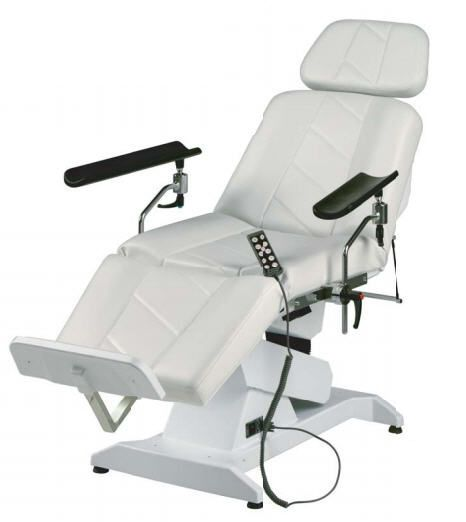 Height-adjustable blood donor armchair / electrical Hemo 4 LEMI