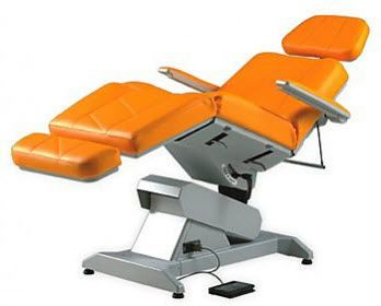 Minor surgery examination table / electrical / height-adjustable / 3-section Lemi 3 LEMI