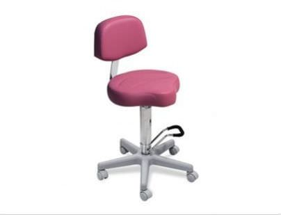 Medical stool / on casters / height-adjustable / with backrest 021, 021/S, 035 035/S LEMI