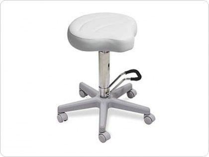 Medical stool / height-adjustable / saddle seat 015, 015/S LEMI