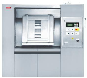 Side loading washer-extractor / for healthcare facilities 180 kg | LMA 1800 Lavamac