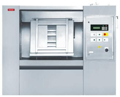 Side loading washer-extractor / for healthcare facilities 110 kg | LMA 1100 Lavamac
