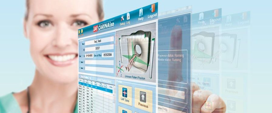 Software / simulation / control / planning / medical CARINAiso LAP Lasers