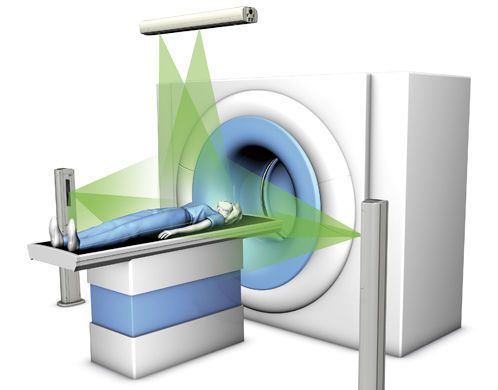 Radiosurgery virtual simulation laser DORADOselect 1 LAP Lasers