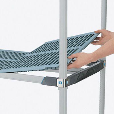 Wire shelving unit / modular / mobile / polymer MetroMax i® InterMetro B.V.