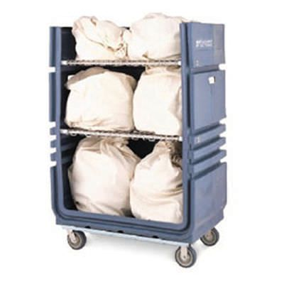 Transport trolley / storage / linen / semi-open structure MetroTrux™ InterMetro B.V.