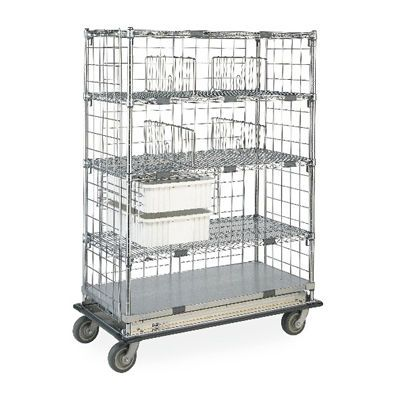Transport trolley / with basket / semi-open structure max. 454 kg InterMetro B.V.