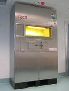 Medical cabinet / radioactive isotope / for healthcare facilities / warming GAMMACELL L'ACN