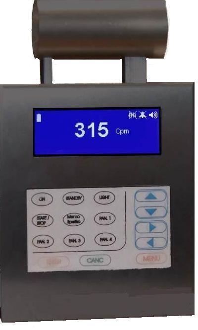 Dosimeter dosimetry instrument / flow meter / gamma ray SPECTRAGAMMA L'ACN