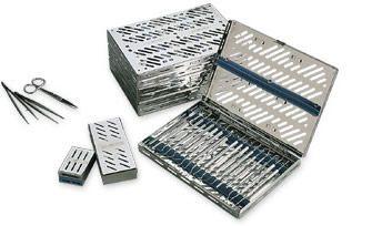 Perforated sterilization cassette L&R