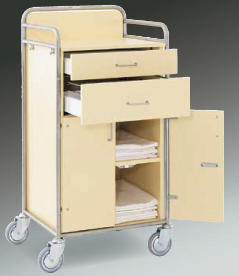 Clean linen trolley / modular EW 410H/C Hammerlit