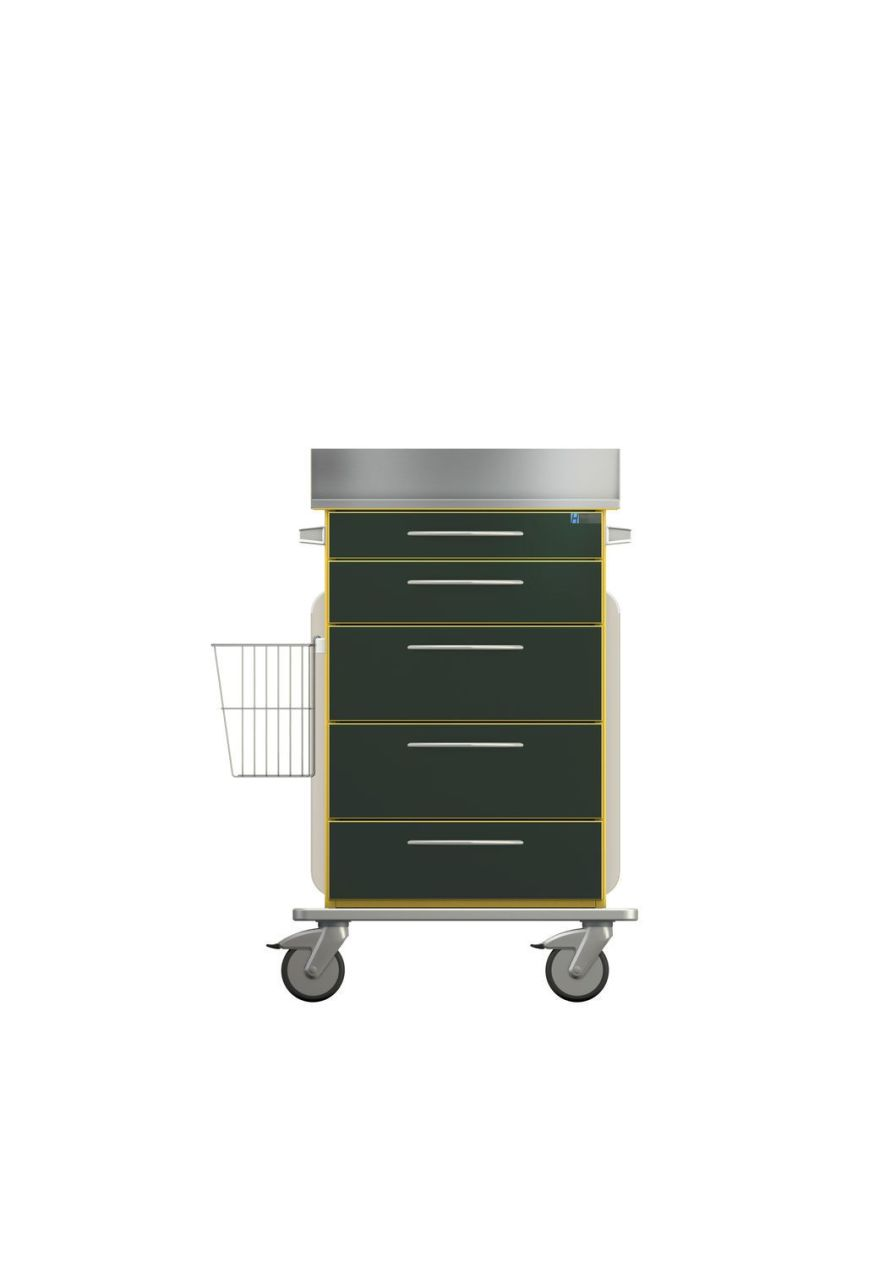 Intensive care trolley PX212T696C1 Hammerlit