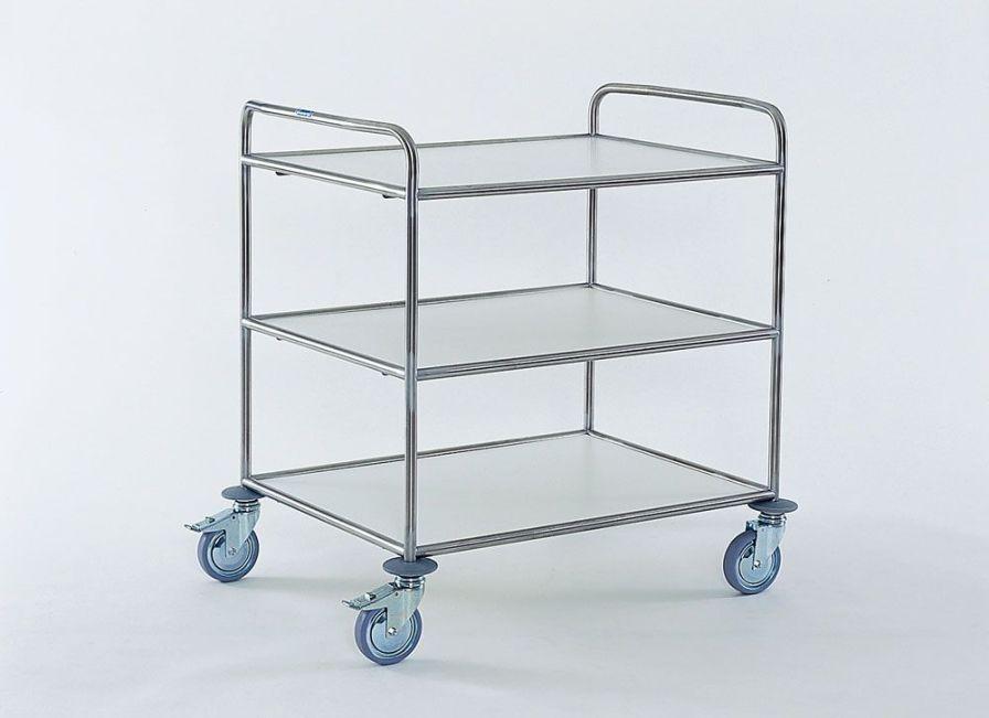 Service trolley / 3-tray MW 863 Hammerlit
