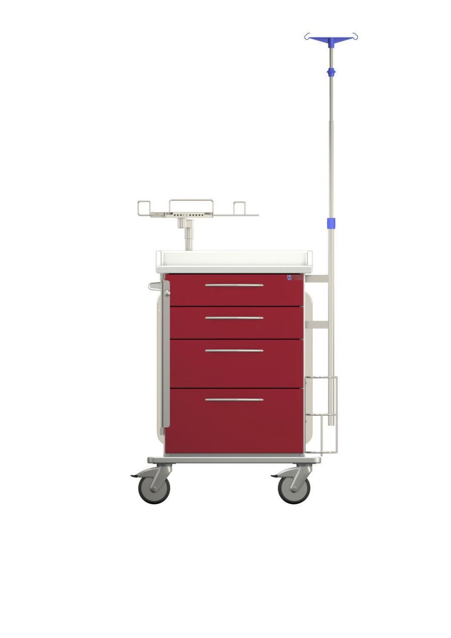 Emergency trolley PX211P460C1 Hammerlit
