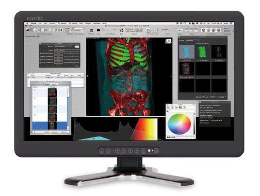 "LCD display / medical 24"", 12 bit   R270FBE Kostec"