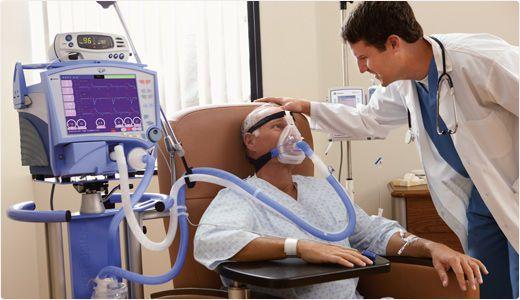 Resuscitation ventilator / with touch screen VELA® CareFusion