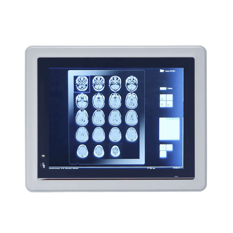 """Waterproof medical panel PC / fanless / with touchscreen 10.4"""" 