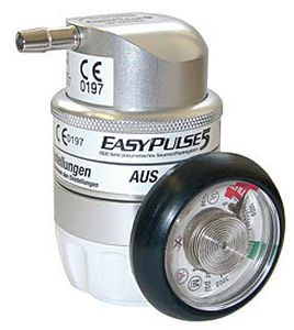 Pneumatic oxygen conserver EASYPULSE5 Kröber Medizintechnik