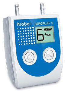 Electronic oxygen conserver AEROPLUS SE Kröber Medizintechnik