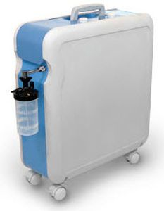 Oxygen concentrator / on casters KRÖBER 4.0 Kröber Medizintechnik