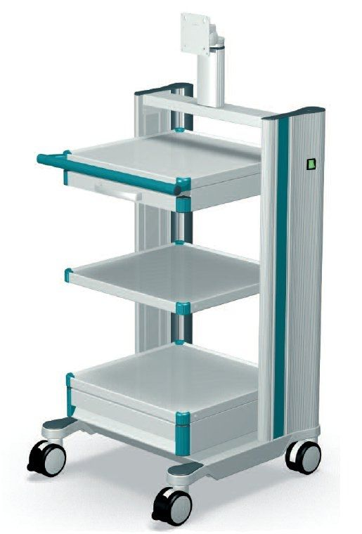 Medical device trolley / for ceiling pendants classic-cart ITD GmbH